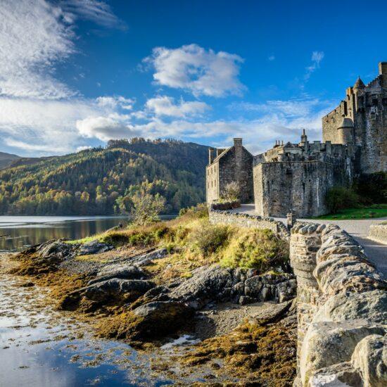 Eilean Donan kasteel Schotland