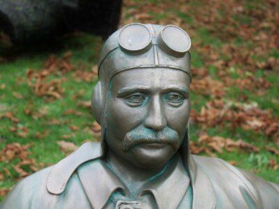 Louis Bleriot vlieger herdenking